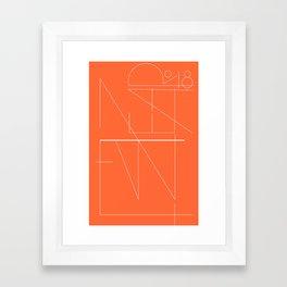 New Year Typo #society6 #decor #buyart Framed Art Print
