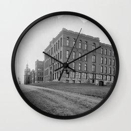 Salisbury Laboratories Wall Clock
