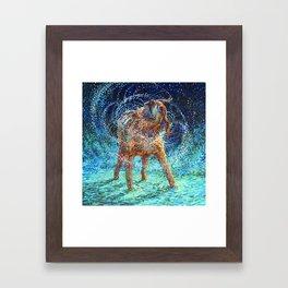 Old Rem Framed Art Print
