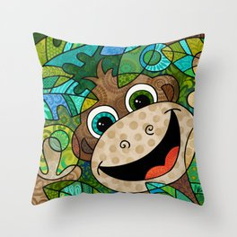 JMonkey Throw Pillow
