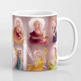 The Muses/Las Musas Coffee Mug