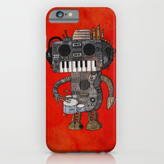 Musicbot iPhone & iPod Case