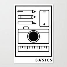Basics Canvas Print