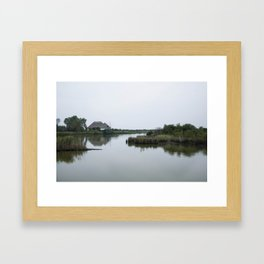 Peaceful lagoon #2 Framed Art Print