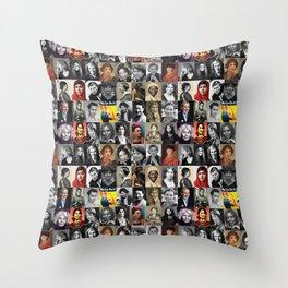 Feminist Tile Throw Pillow