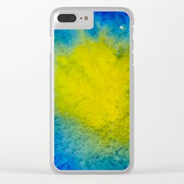 Sea Mirrors The Moon Clear iPhone Case