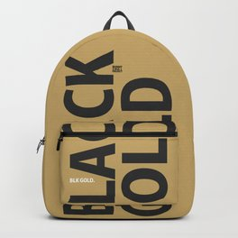 blk gld oro Backpack