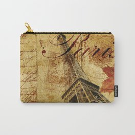Paris vintage poster. Carry-All Pouch