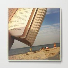 beach book II Metal Print