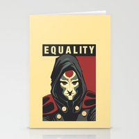 equality Stationery Cards featuring Equality by leibergart