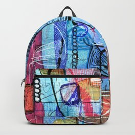 Open Abstract 1 Backpack