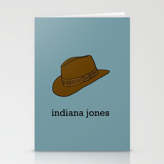 Indiana Jones Stationery Cards