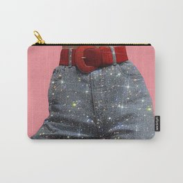 Pink and jeans  Carry-All Pouch