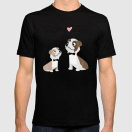 """Custom Artwork, """"Trotsky and Zeus"""" T-shirt"""