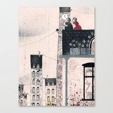 Snow Queen - Kay and Gerda Canvas Print
