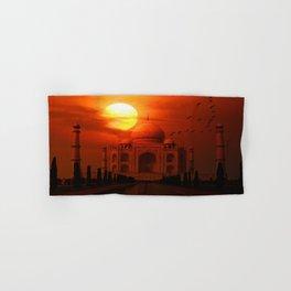 Taj Mahal Sunset Hand & Bath Towel