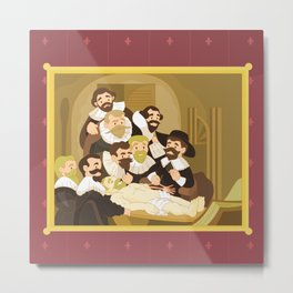 The Anatomy Lesson by Rembrandt Metal Print