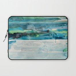 Miami Beach Watercolor #5 Laptop Sleeve