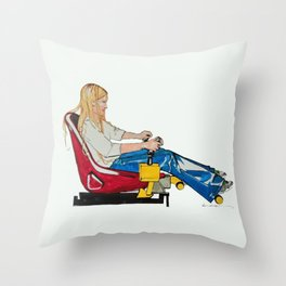 Gamer Gurl Throw Pillow