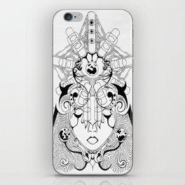 Cybernetic Space Nun iPhone Skin