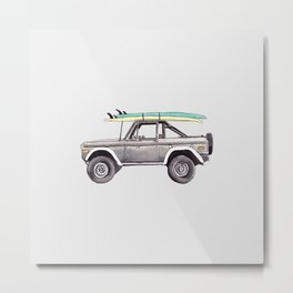 Holiday Car #1 Metal Print