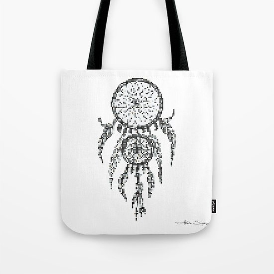Dreamcatcher Pixel Art Tote Bag