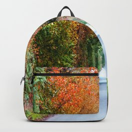 Autumn tunnel Backpack