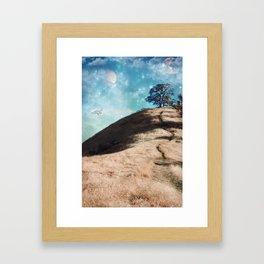 Not On This Earth Framed Art Print