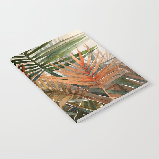 Arecaceae - household jungle #1 Notebook