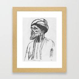 Maimonides Framed Art Print