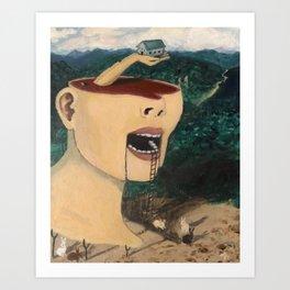 """""""Ascending Into Consciousness""""  Art Print"""