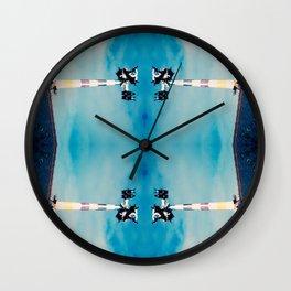 Don't Puke Wall Clock