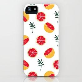 Summer grapefruit iPhone Case