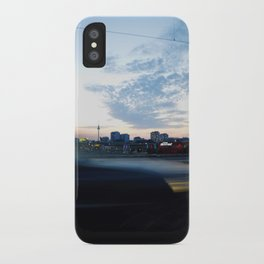 berlin is passing by iPhone Case