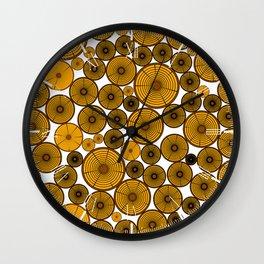 Timber Wall Clock