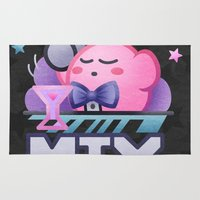 kirby Area & Throw Rugs featuring Kirby Mix by likelikes