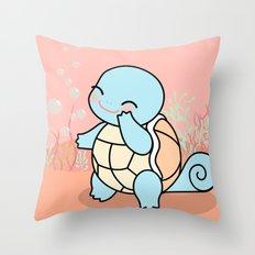 Cute Squir tle Throw Pillow