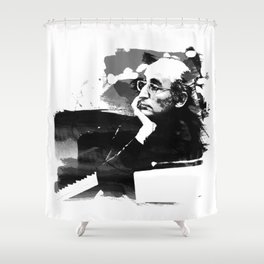 Friedrich Gulda - Pianist Shower Curtain