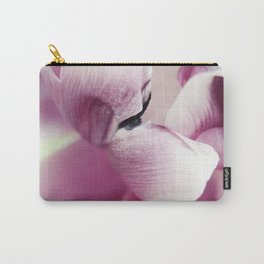 pink tulip petals Carry-All Pouch