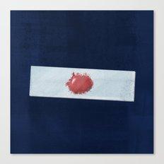 Blood slide Canvas Print