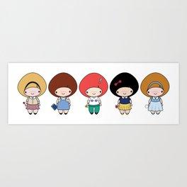 The Kwee-Yomi Group Art Print