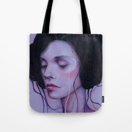 When I Close My Eyes Tote Bag