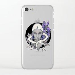 Wolfsbane Clear iPhone Case