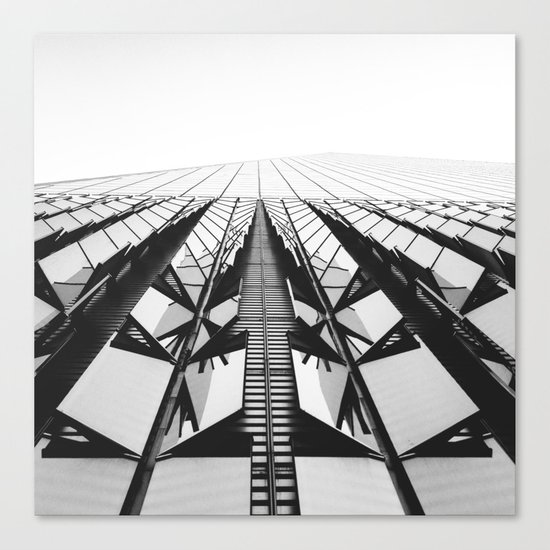 To the Limit - World Trade Center - NYC Canvas Print