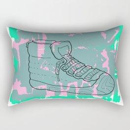 80s kicks Rectangular Pillow