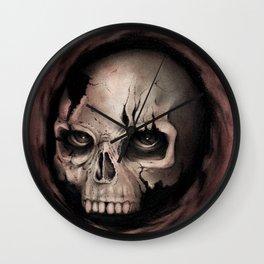 Skull II Wall Clock