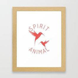 Bird Native Birds Songbird Hummingbird Gift Framed Art Print