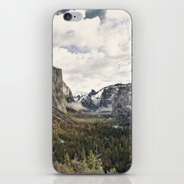Yosemite Tunnel View iPhone Skin