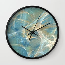 Whisper 3D Abstract Fractal Wall Clock