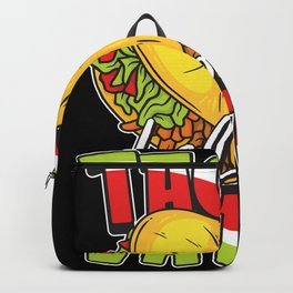 Perfect Gift for all Taco & Burrito Lovers Backpack